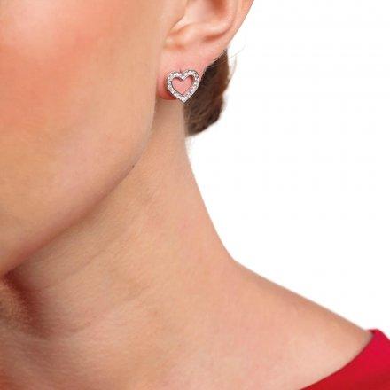 Biżuteria Guess damskie kolczyki UBE28003