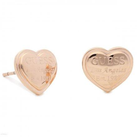 Biżuteria Guess damskie kolczyki UBE28010