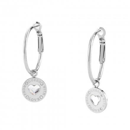 Biżuteria Guess damskie kolczyki UBE70033