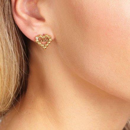 Biżuteria Guess damskie kolczyki UBE70174