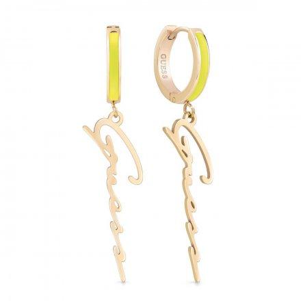 Biżuteria Guess damskie kolczyki UBE70210