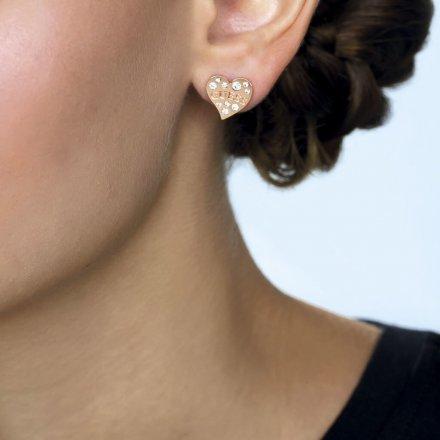 Biżuteria Guess damskie kolczyki UBE78053