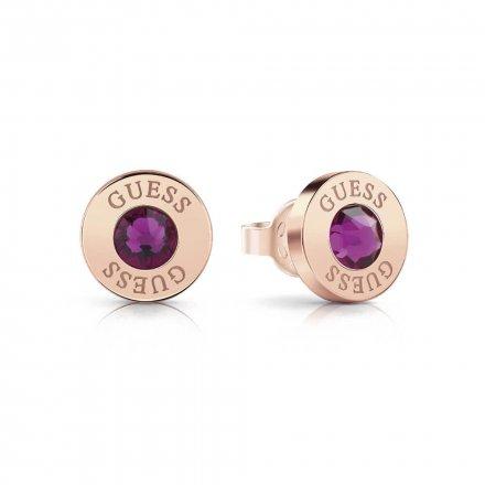 Biżuteria Guess damskie kolczyki UBE78105