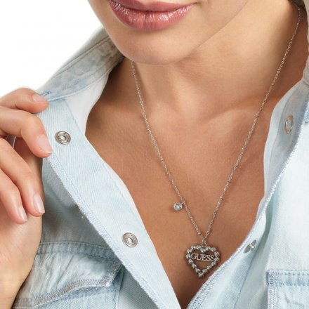 Biżuteria Guess damski naszyjnik UBN70075