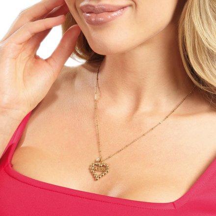 Biżuteria Guess damski naszyjnik UBN70076