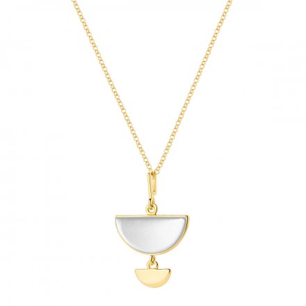 Naszyjnik srebrny z masą perłową Biżuteria Ditta Zimmermann DZN344/MPB/Z