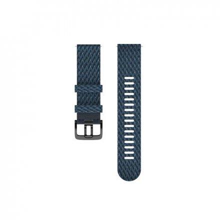 Polar Pasek 22mm tekstylny niebieski M/L