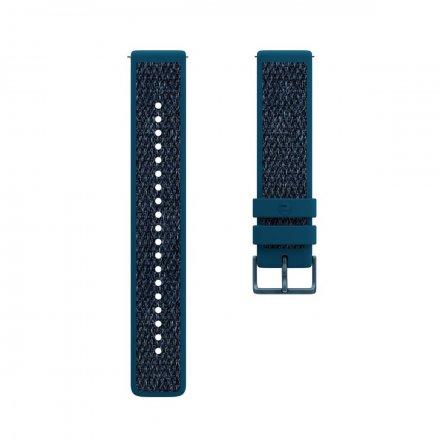 Polar Pasek 20mm hybrydowy tekstylny niebieski M
