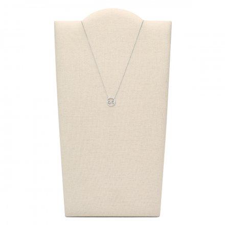 Srebrny Fossil Naszyjnik damski JFS00523040