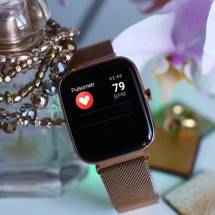 Smartwatch różowozłoty Vector VVCTR-33-03RG