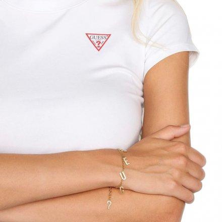 Biżuteria Guess damska bransoletka UBB20003-L