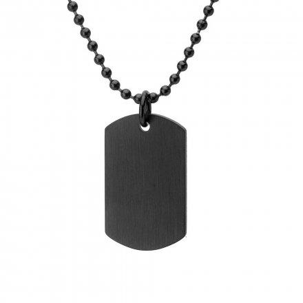 Biżuteria Manoki Stalowy naszyjnik męski WA551BM
