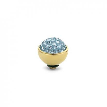 Element wymienny Meddy Melano Twisted TM74 Shiny 6 mm Złoty Aquamarine