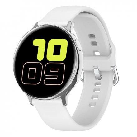 Smartwatch Pacific 24-1 Srebrny z paskiem Puls Kroki