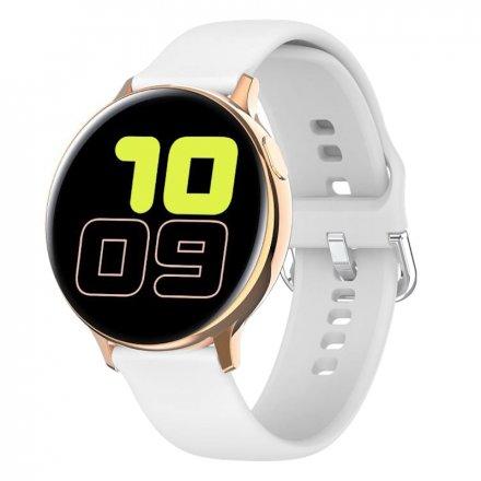 Smartwatch Pacific 24-5 Złoty z paskiem Puls Kroki
