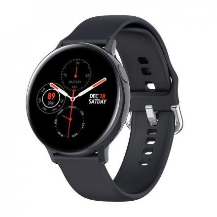 Smartwatch Pacific 24-6 Czarny z paskiem Puls Kroki
