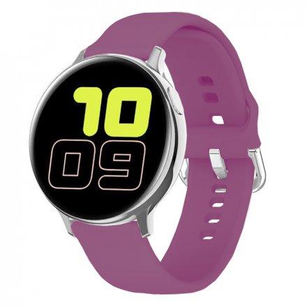 Smartwatch Pacific 24-7 Srebrny z paskiem Puls Kroki