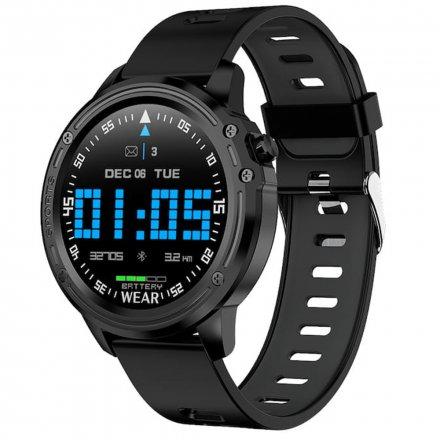 Smartwatch Pacific 14-1 Czarny Puls Kroki