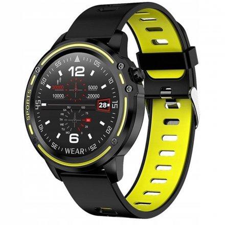 Smartwatch Pacific 14-3 Czarny Puls Kroki