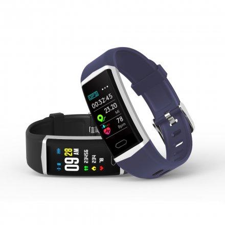 Smartwatch Pacific 11-1 Czarna Opaska Puls Kroki