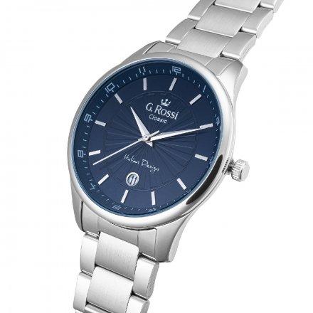 Zegarek G.Rossi ze srebrną bransoletą C12156B2-6C1