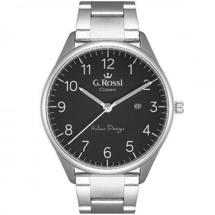 Zegarek G.Rossi ze srebrną bransoletą C1273B2-1C1
