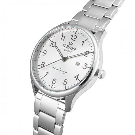 Zegarek G.Rossi ze srebrną bransoletą C1273B2-3C1