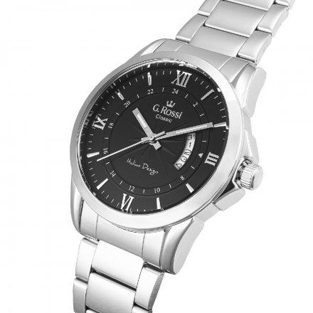 Zegarek G.Rossi ze srebrną bransoletą C3844B3-1C1