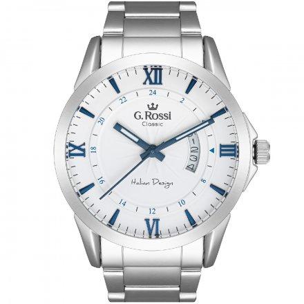Zegarek G.Rossi ze srebrną bransoletą C3844B3-3C6