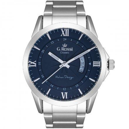 Zegarek G.Rossi ze srebrną bransoletą C3844B3-6C1