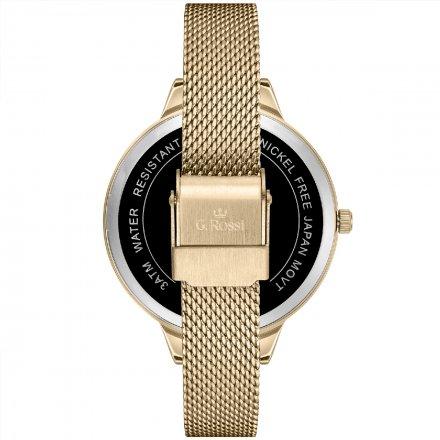 Zegarek damski G.Rossi złoty z bransoletką G.R10296B4-1D1