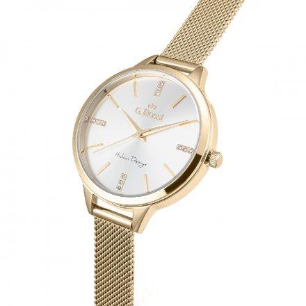 Zegarek damski G.Rossi złoty z bransoletką G.R10296B4-3D1