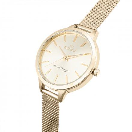 Zegarek damski G.Rossi złoty z bransoletką G.R10296B-4D1