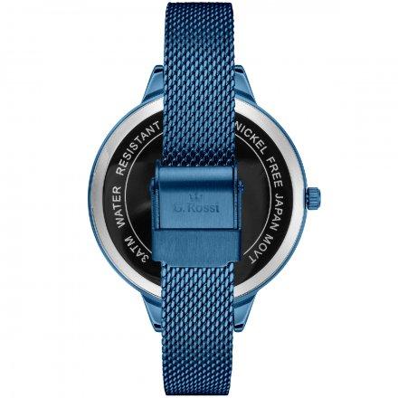 Zegarek damski G.Rossi niebieski z bransoletką G.R10296B-6F1