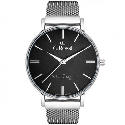 Zegarek damski G.Rossi srebrny z bransoletką G.R10401B-1C1