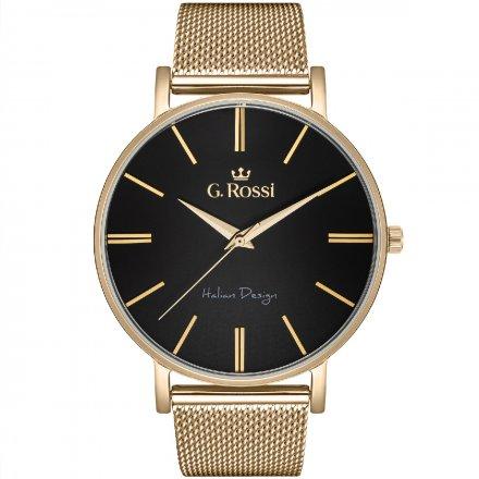 Zegarek damski G.Rossi złoty z bransoletką G.R10401B-1D1
