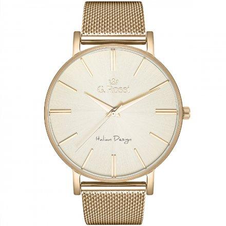 Zegarek damski G.Rossi złoty z bransoletką G.R10401B-4D1