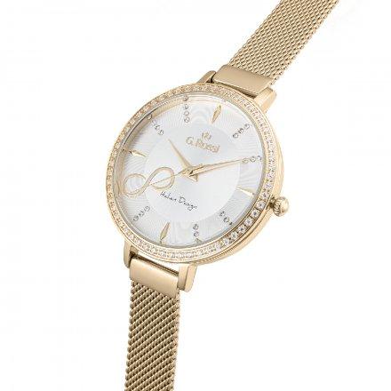 Zegarek damski G.Rossi złoty z bransoletką G.R11389B3-3D1