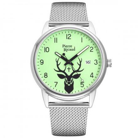 Zegarek Męski Pierre Ricaud P97234.512OREQ Niemiecka Jakość