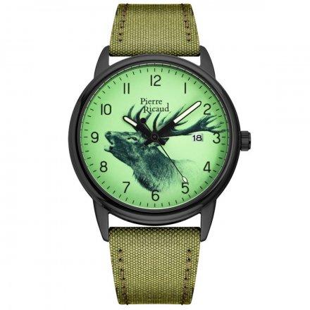 Zegarek Męski Pierre Ricaud P97234.B82ORRQ Niemiecka Jakość