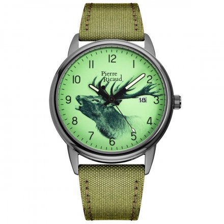 Zegarek Męski Pierre Ricaud P97234.S82ORRQ Niemiecka Jakość