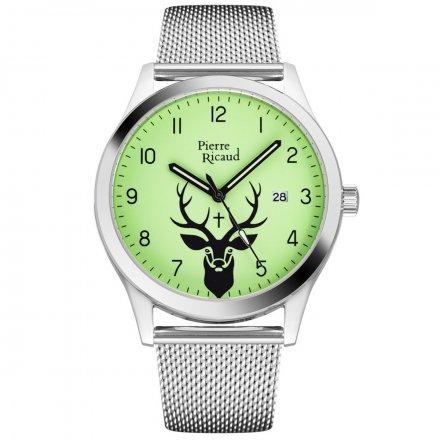 Zegarek Męski Pierre Ricaud P97240.512OREQ Niemiecka Jakość