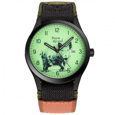 Zegarek Męski Pierre Ricaud P97240.B82OWNQ Niemiecka Jakość
