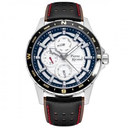 Pierre Ricaud P97264.5213QF Zegarek Męski Niemiecka Jakość