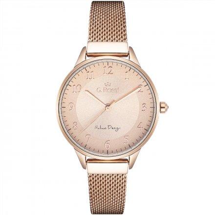 Zegarek damski G.Rossi złoty z bransoletką G.R12189B-4D2