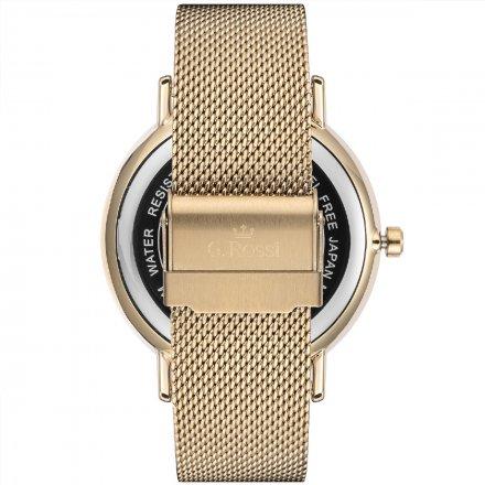 Zegarek damski G.Rossi złoty z bransoletką G.R12507B2-4D1
