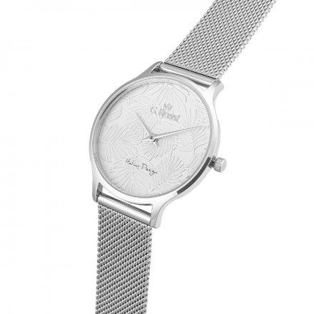 Zegarek damski G.Rossi srebrny z bransoletką G.R12516B-3C1