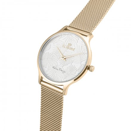 Zegarek damski G.Rossi złoty z bransoletką G.R12516B-3D1