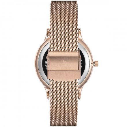 Zegarek damski G.Rossi różowozłoty z bransoletką G.R12516B-3D3