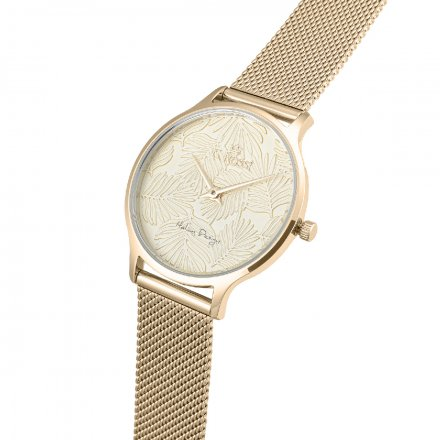 Zegarek damski G.Rossi złoty z bransoletką G.R12516B-4D1